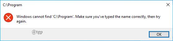 Onedrive Error Message2