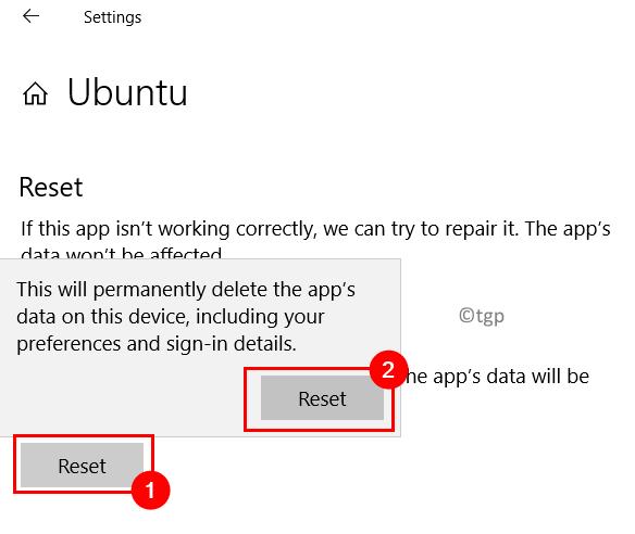 Reset Linux App Min