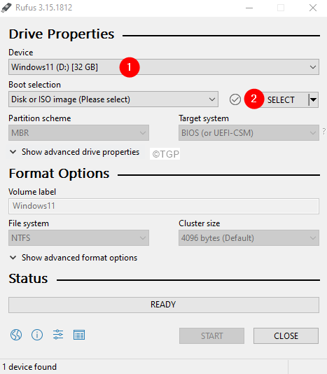 Rufus Windows Check If Usb Is Detected
