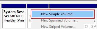 Simple Volume