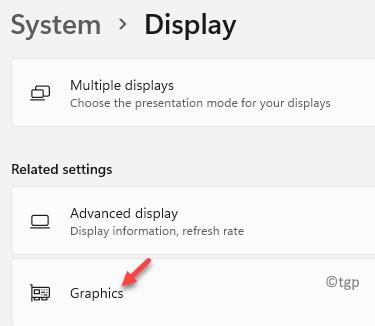 System Display Graphics Min