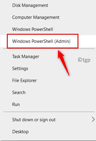 Windows Powershell Admin Launch Min