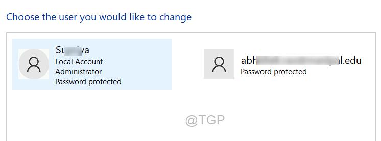 Choose User Account To Change Account Type Win11 Min