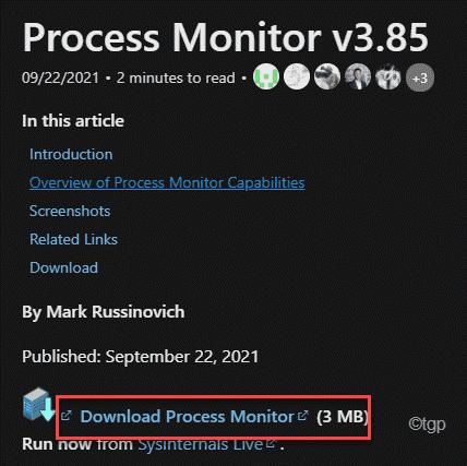 Download Process Monitor Min