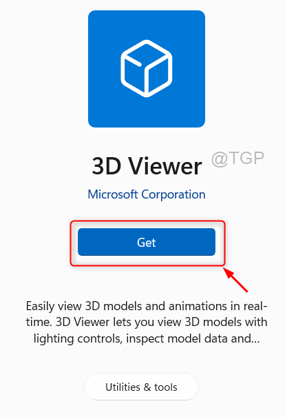 Get 3dviewer Microsoft Store Win11 Min