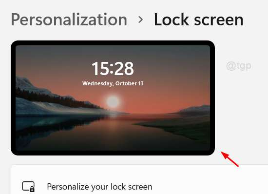 Lock Screen Background Image Changed Win11 11zon