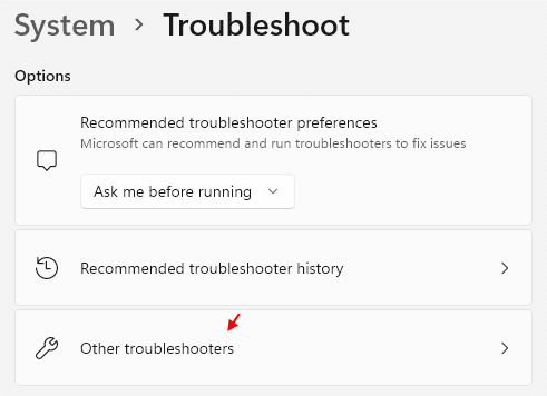 Other Troubleshooters Min