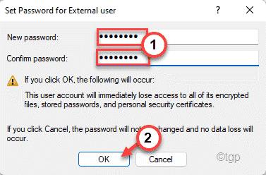 Password Change Set Min