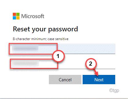 Reset Password Min