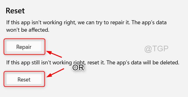 Reset Repair 3d Viewer Win11 Min