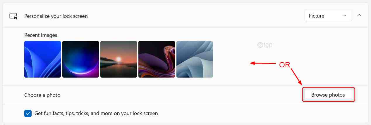 Select Image For Login Screen Background Win11 11zon