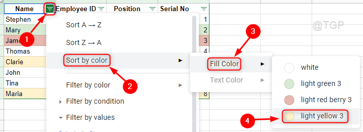 Sort By Fill Color Google Sheets Min
