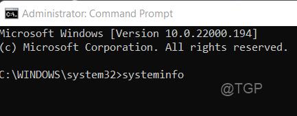 Systeminfo Cmd Win11