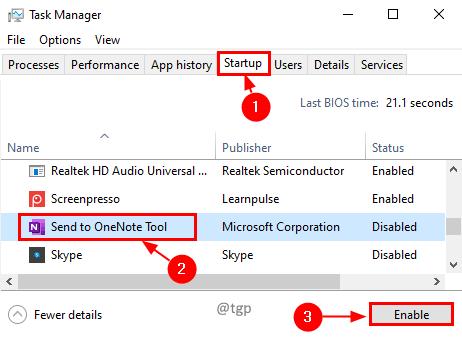 Task Manager Startup Min