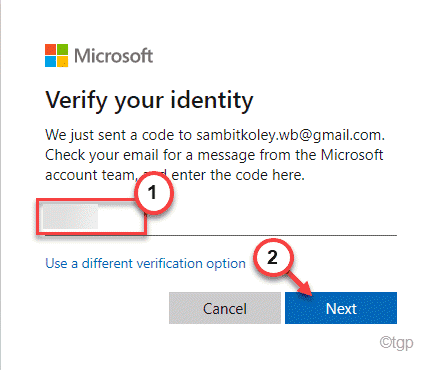 Verify Identity Min