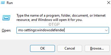 Windowsdefender In Run